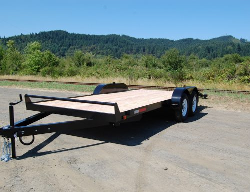 Lite Line Deck Between Trailer