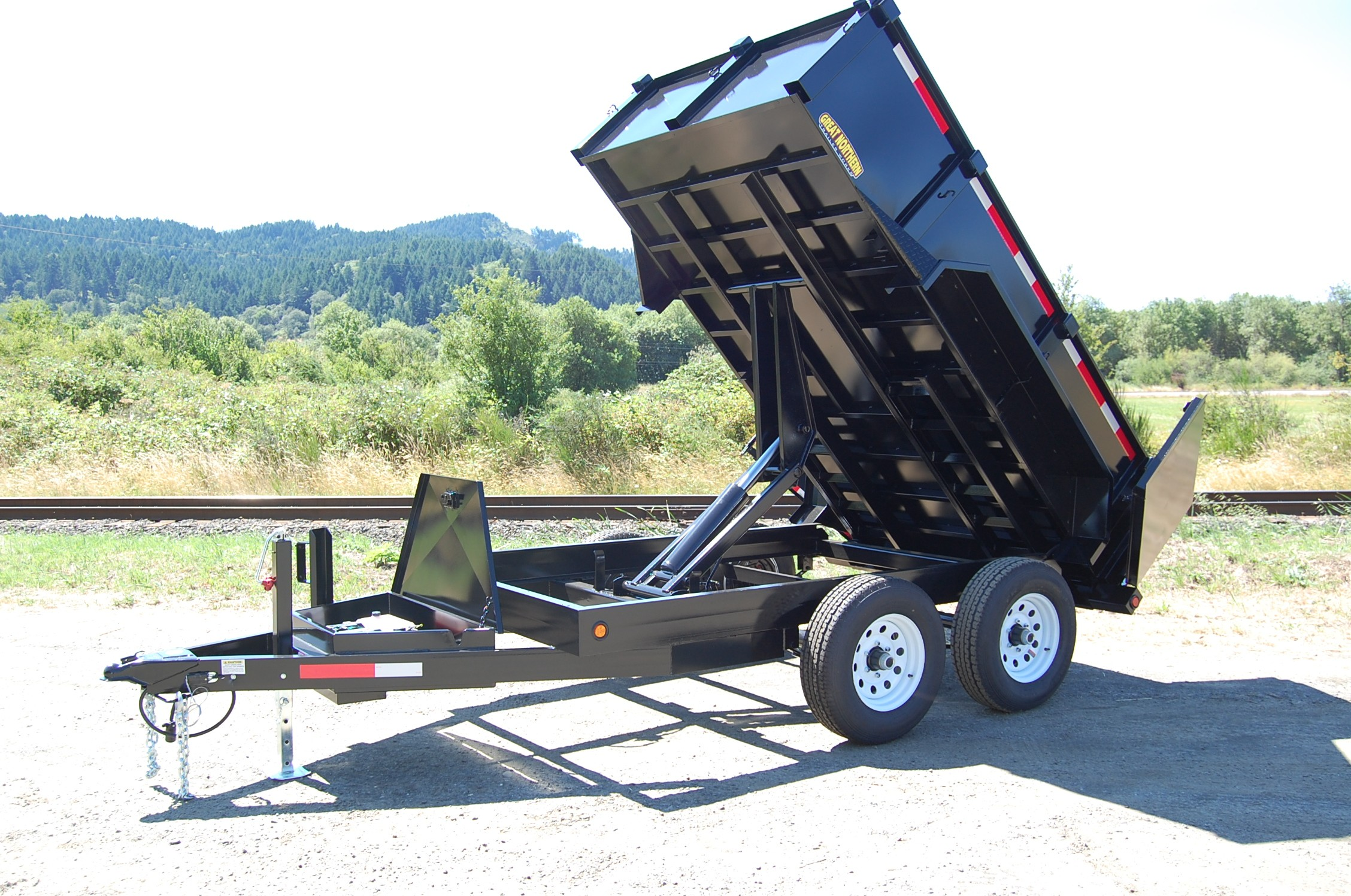 Index additionally Railcar Dumpers Wagon Tipplers besides Rock Truck besides Henderson Products Inc in addition Ab Big Rig Weekend 2010. on bottom dump trailers