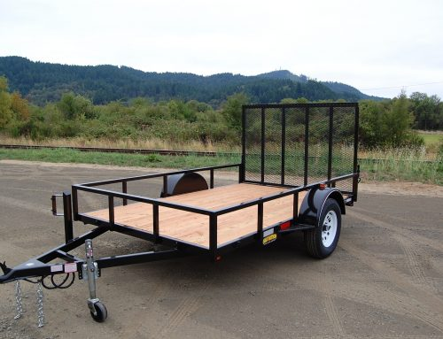 Single Axel Utility Trailer